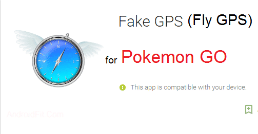 (Fake GPS) Fly GPS for Pokemon Go (Pokemon GO No Root Hack) Android 4