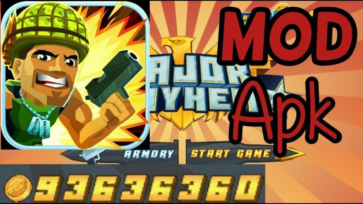 Major Mayhem Mod Apk