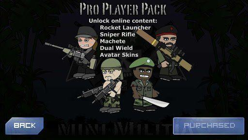 Mini Militia Mod Apk (God Mod+Pro Pack) Unlimited Ammo Nitro No Reload 1