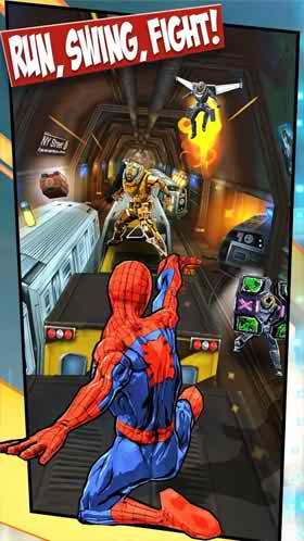 Spider-Man-Unlimited-mod-apk-2 Spider-Man Unlimited Mod Apk for Android Phone
