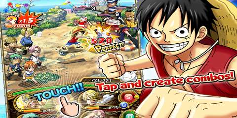 One Piece Treasure Cruise Mod Apk 5.1.1 God Mode 1
