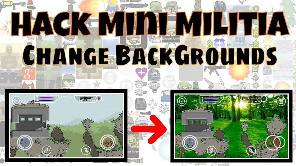 Mini Militia Invisible Hack [+Mod Apk] + Add Face + Background Change 4