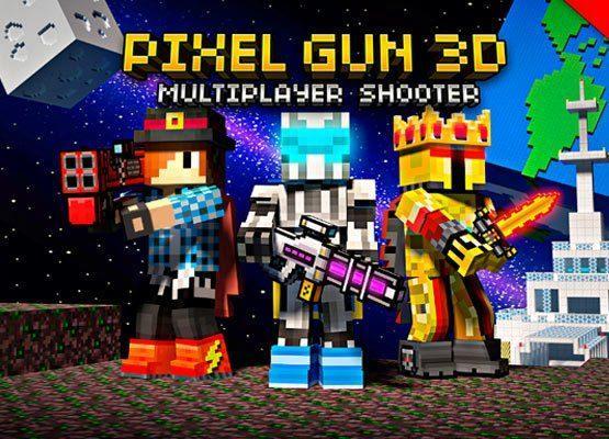 Pixel Gun 3D Mod apk unlimited coins and gems 1