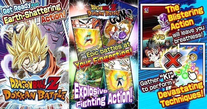 Dragon Ball Z Dokkan Battle MOD APK for Android {Gode Mode, Massive Attack, Infinite Health} 2