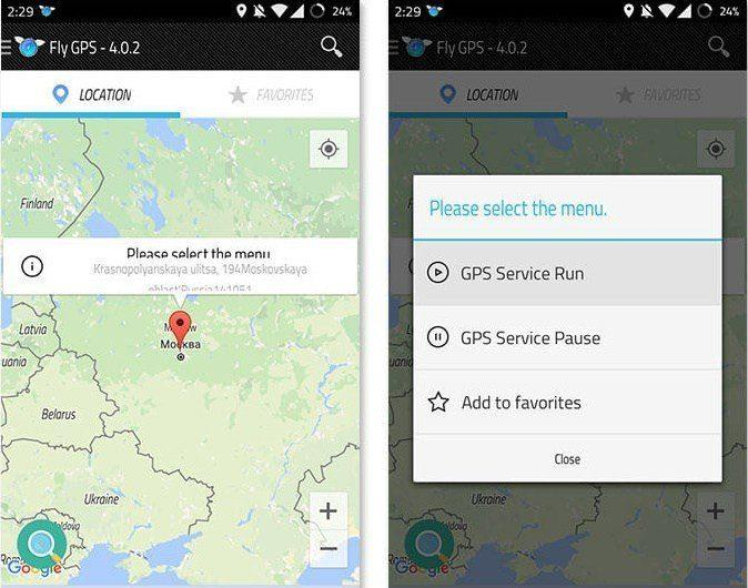 Fly-GPS-4.0.5-apk-for-Pokemon-GO-Hack Pokemon Go Hack Android (Fly GPS, Unlimited Hack, Mod Apk)