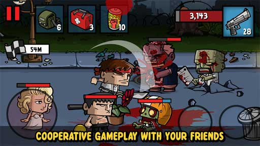 Game-play-Zombie-Age-3-Mod-Apk-with-ZA3-Unlimited- Zombie Age 3 Mod Apk with ZA3 Unlimited Money and Gold Apk