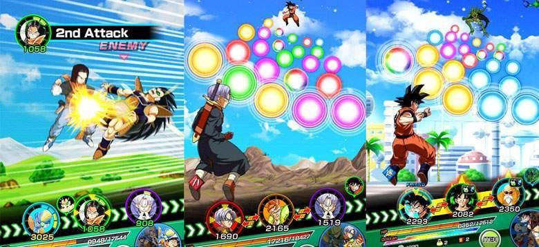 Dragon Ball Z Dokkan Battle MOD APK for Android {Gode Mode, Massive Attack, Infinite Health} 3