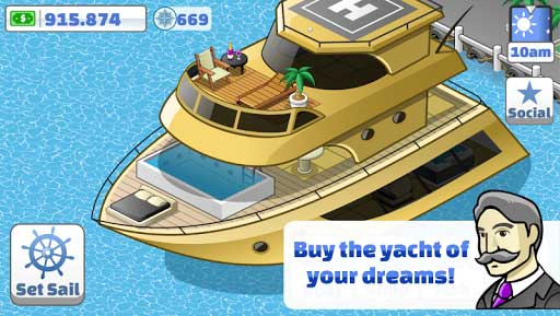 Nautical Life Mod Apk (Unlimited Infinite Cash/Gems/Compass/Boats) 4