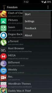 Freedom Apk App To Get In-App Purchases hack For Free on Android 4