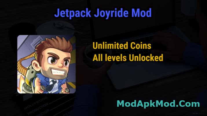 Jetpack Joyride Mod Unlimited money All levels Unlocked