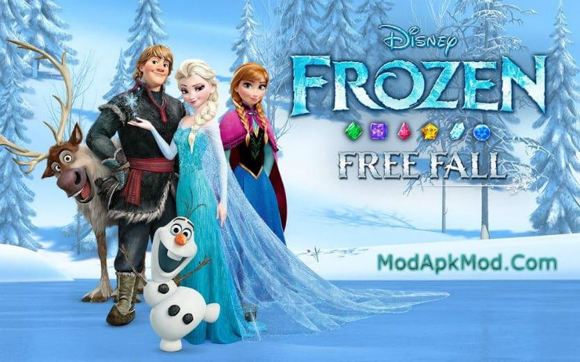 Photo of Frozen Free Fall Mod Apk + Data (Unlimited Lives/Bonuses) v7.2.0