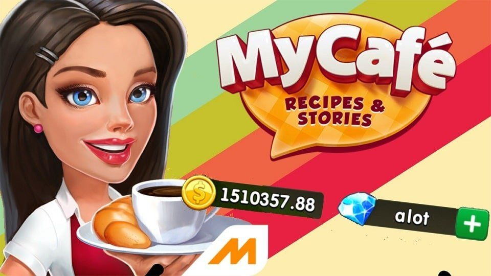 My Cafe mod Apk unlimited Money and diamonds
