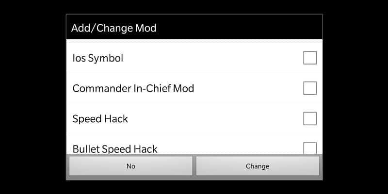 Mini Militia In-App Selector Mod by kmods