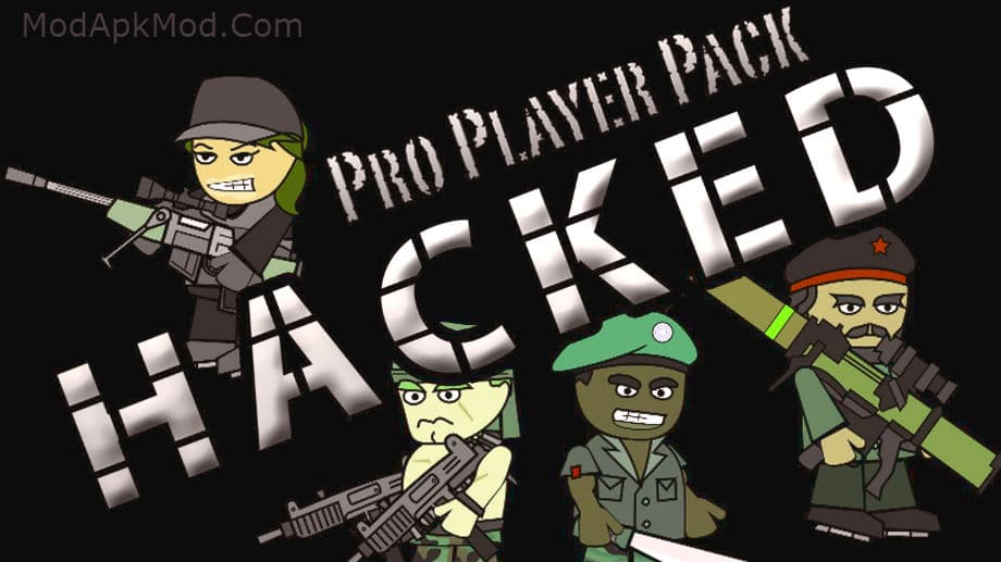 Mini Militia 4.2.5 Pro Pack Mod Apk and All Items Purchased hack without Root 1