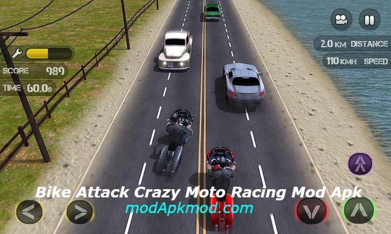 Bike Attack Crazy Moto Racing Mod Apk