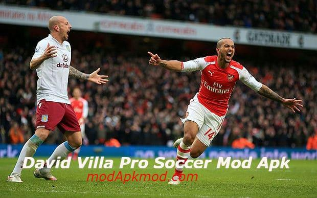 David Villa Pro Soccer Mod Apk