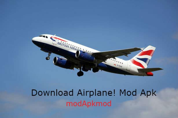 Download Airplane! Mod Apk + OBB Data  (All Items Unlocked) 1