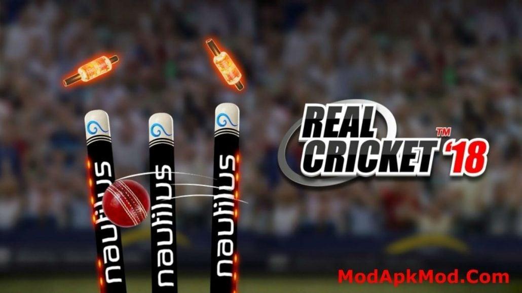 Real Cricket18 Mod Apk-