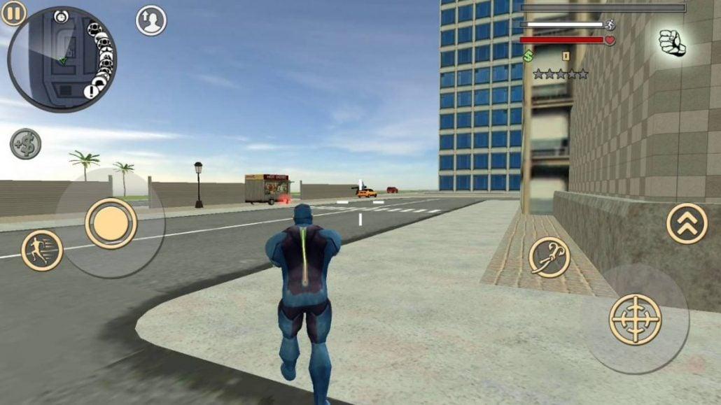 Rope Hero Vice Town Mod Apk