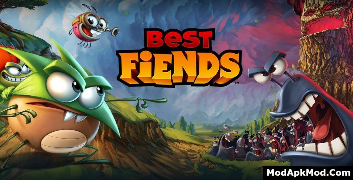 Best Fiends - Puzzle Adventure Mod Apk