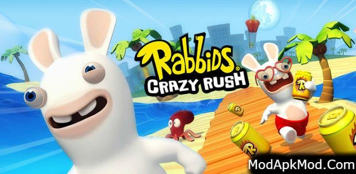 Rabbids Crazy Rush Mod Apk