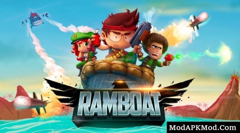 Ramboat - Jumping Shooter Game Mod Apk