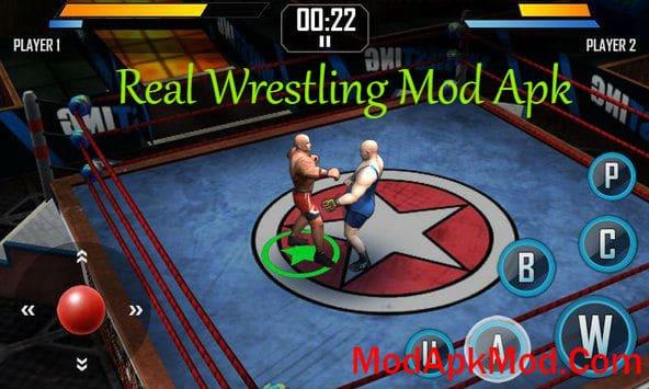 Real Wrestling Mod Apk