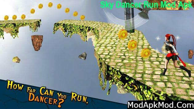 Sky Dancer Run Mod Apk