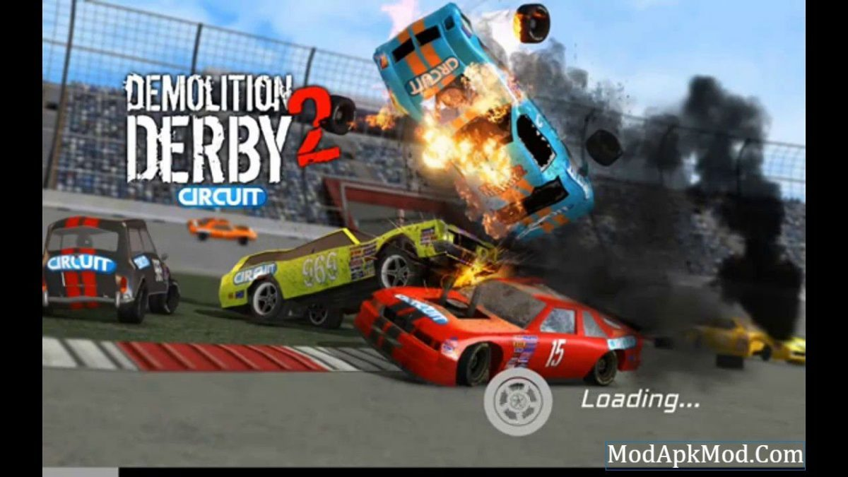 Demolition Derby 2 Mod Apk