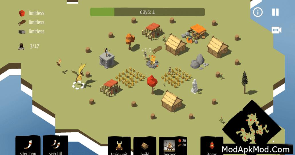 Viking Village RTS Mod Apk