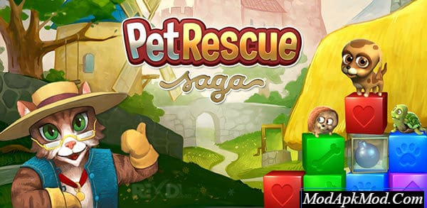 Photo of Pet Rescue Saga Mod Apk v1.152.12 (Unlimited Lives/Moves/Boosters)