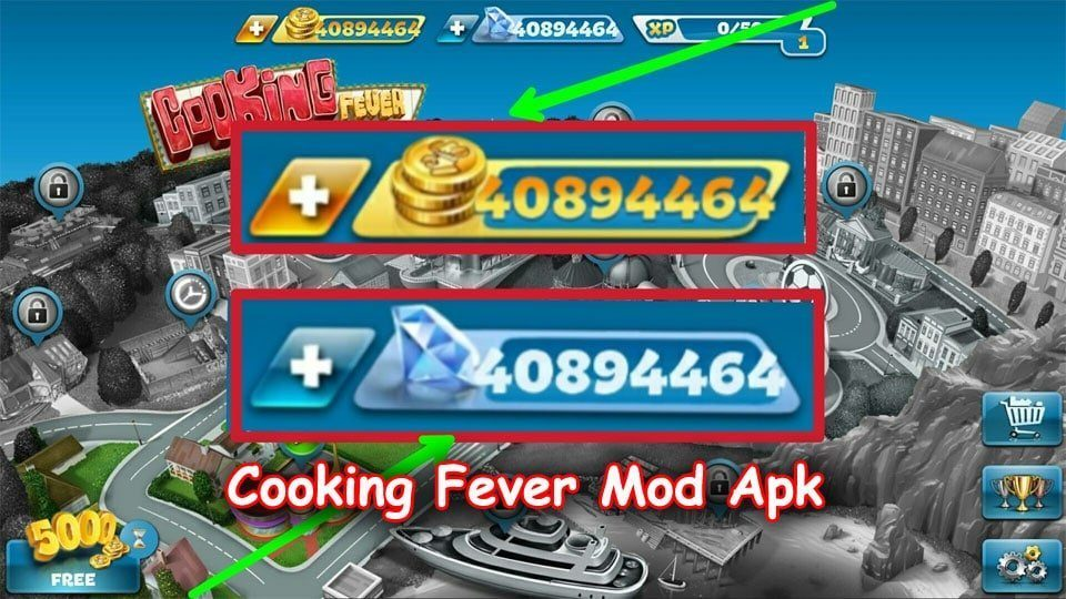 Photo of Cooking Fever Mod Apk (Unlimited Coins/Gems) Download for Android