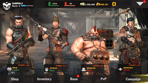 dead warfare zombie mod apk unlimited money download