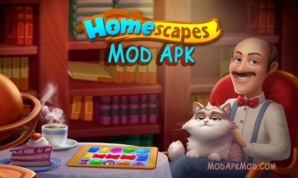 Download Homescapes Mod Apk Unlimited Stars and Coins