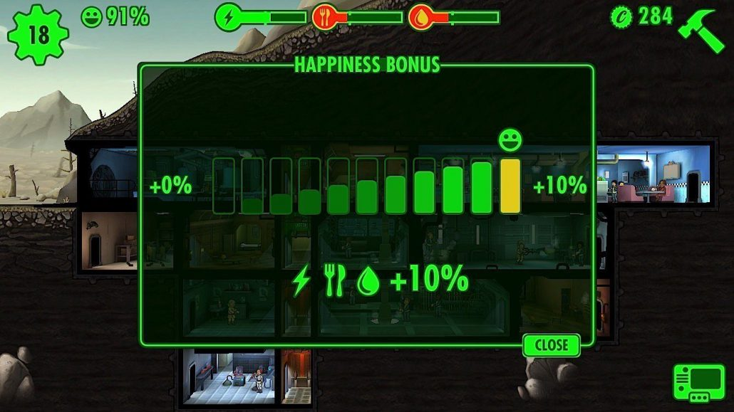 Fallout Shelter Tips tricks cheats hacks - Keep Everyone Happy
