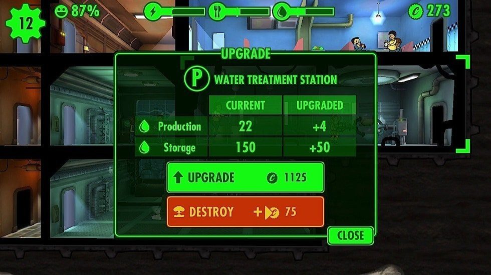 Fallout Shelter Tips tricks cheats hacks - Upgrade Your Rooms