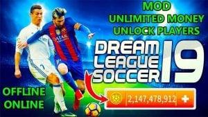 Download Dream League Soccer 2019 MOD Apk + OBB [Unlimited Money] 3