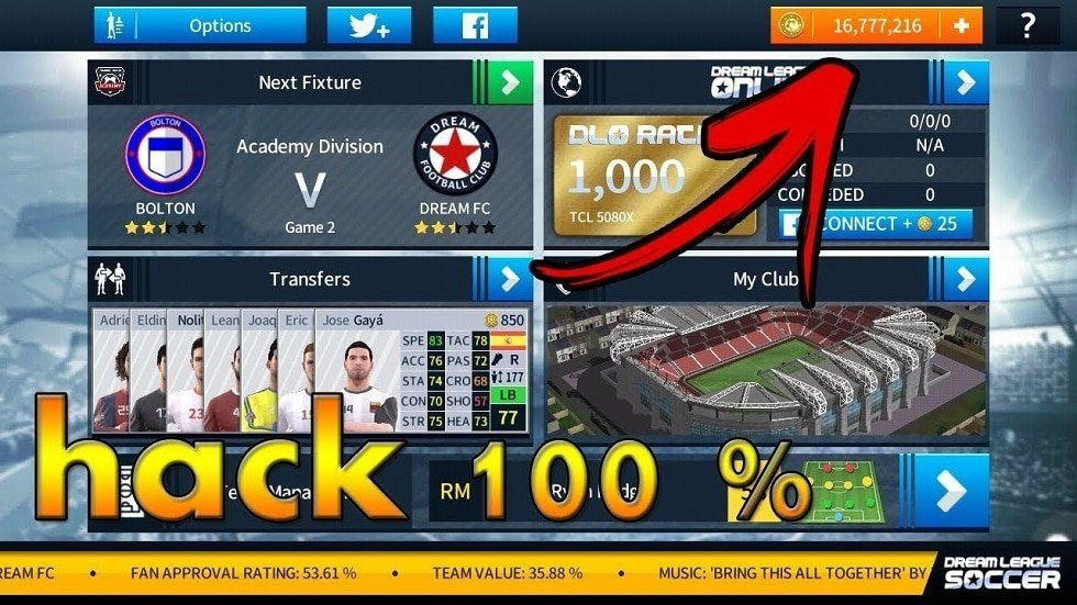 Dream League Soccer 19 mod apk Screenshots