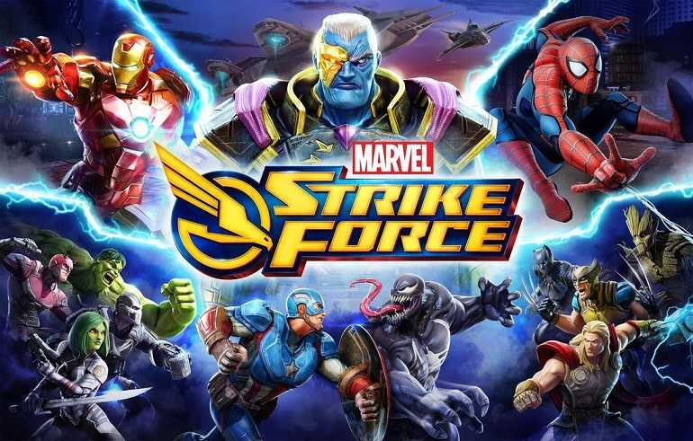 MARVEL Strike Force MOD APK 3.3.0 (Free Skills, Unlimited Money, Energy) 2