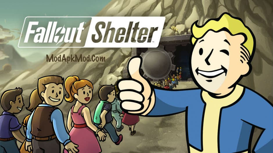 Download Fallout Shelter Mod Apk + obb data