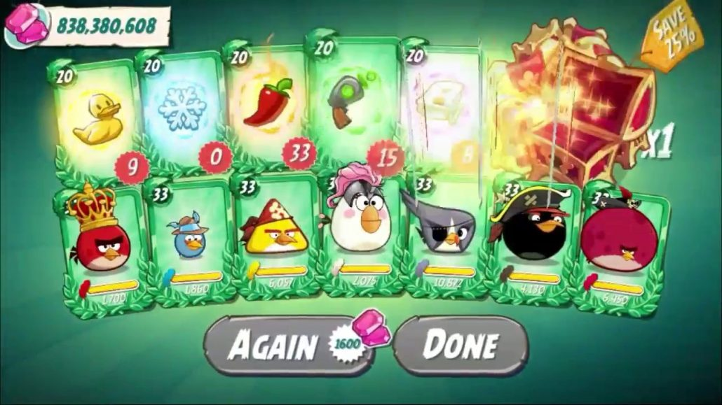 Angry Birds 2 Hack mod Android no root Unlimited gems